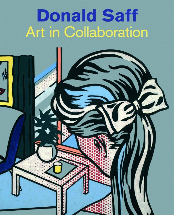Cover for Donald Saff: Art in Collaboration