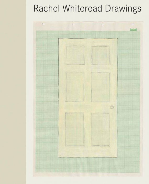 Cover for Rachel Whiteread Drawings