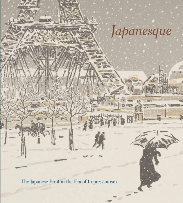 Cover for Japanesque: The Japanese Print in the Era of Impressionism