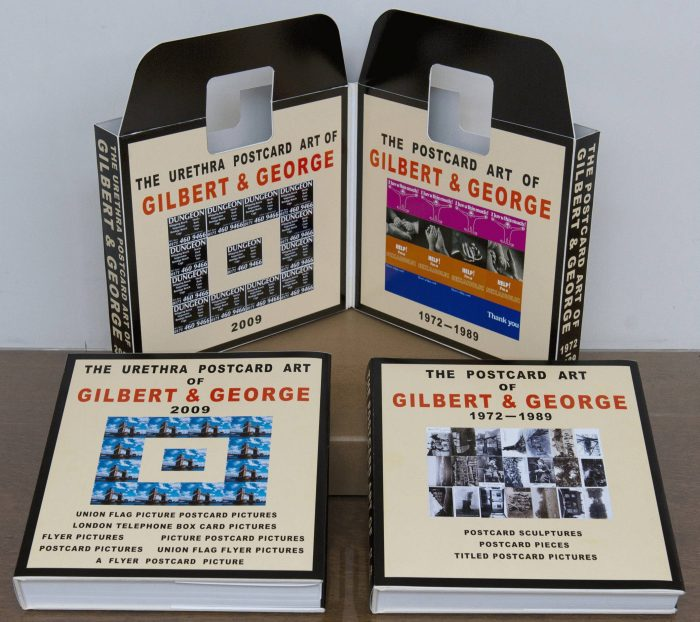 Cover for The Complete Postcard Art of Gilbert and George