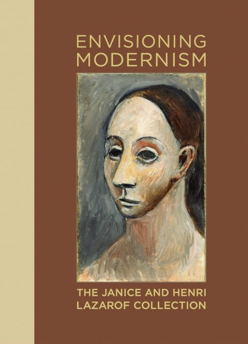 Cover for Envisioning Modernism: The Janice and Henri Lazarof Collection