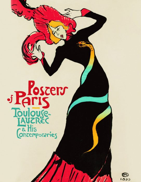 Cover for Posters of Paris: Toulouse-Lautrec and his Contemporaries