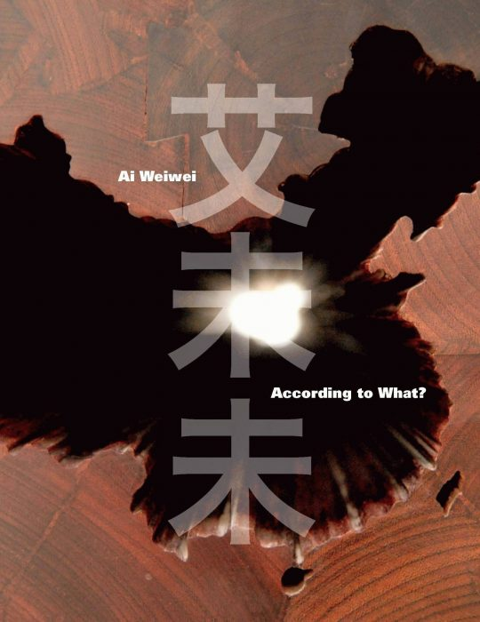 Cover for Ai Weiwei: According to What?