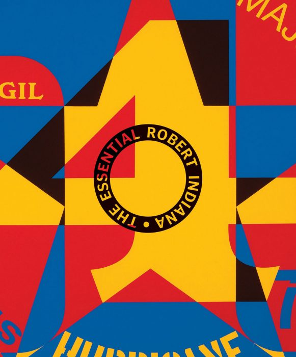 Cover for The Essential Robert Indiana