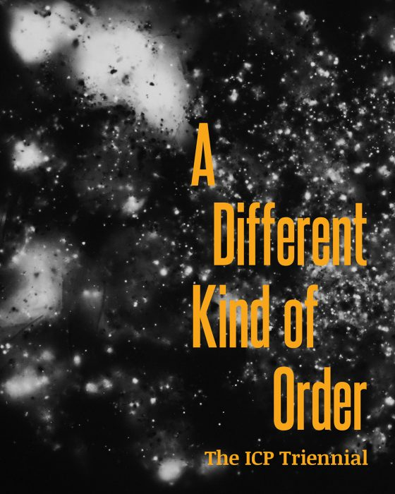 Cover for A Different Kind of Order: The ICP Triennial