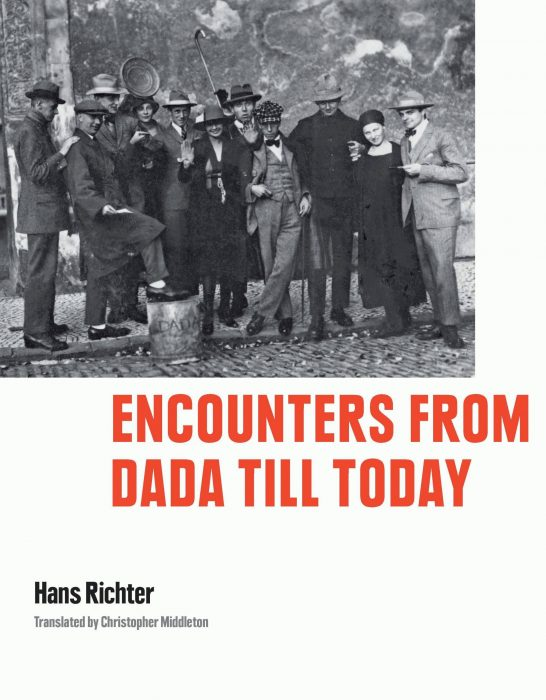 Cover for Encounters from Dada till Today