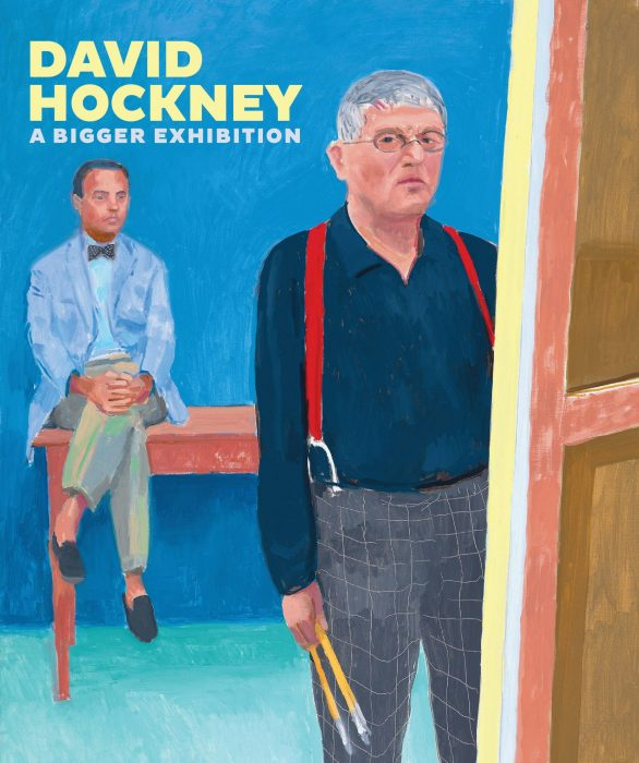 Cover for David Hockney: A Bigger Exhibition