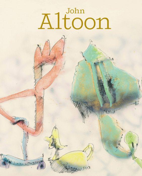 Cover for John Altoon