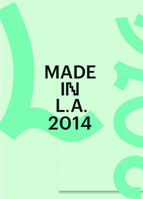 Cover for Made in L.A. 2014
