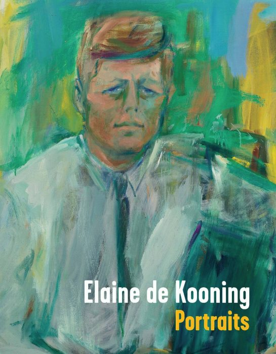 Cover for Elaine de Kooning: Portraits