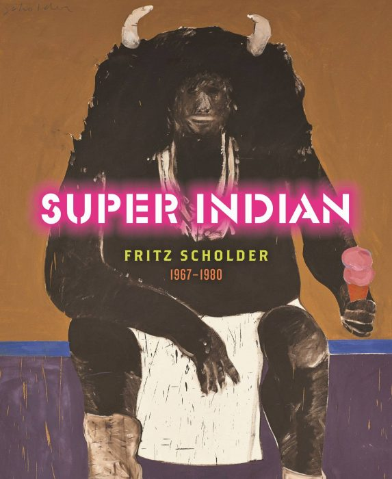 Cover for Super Indian: Fritz Scholder 1967-1980