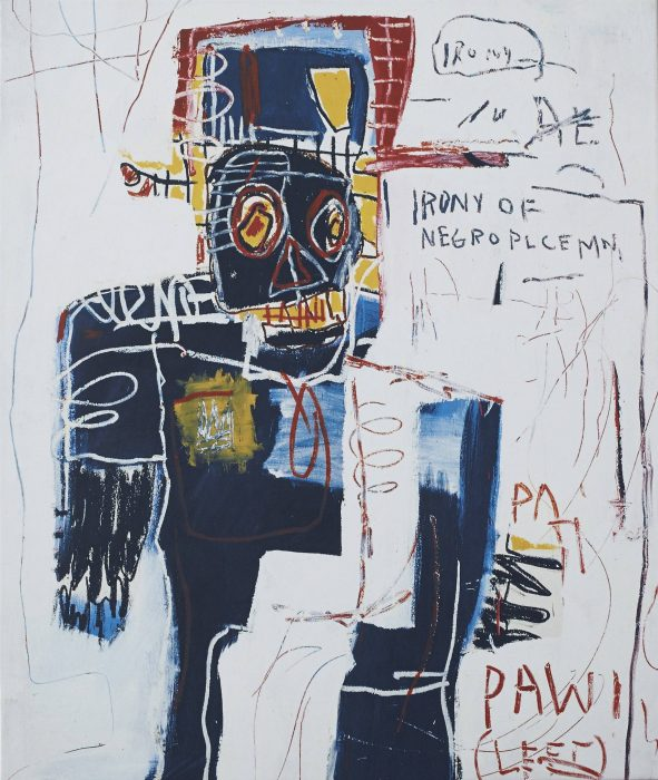 Cover for Jean-Michel Basquiat: Now's the Time