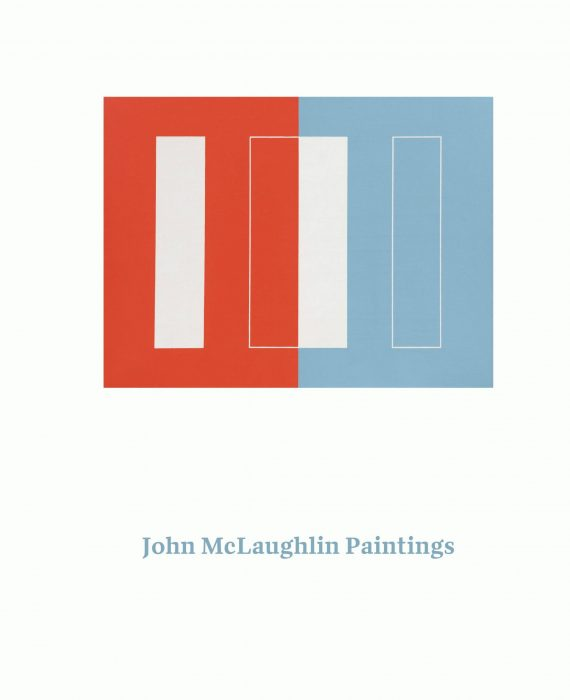 Cover for John McLaughlin Paintings: Total Abstraction