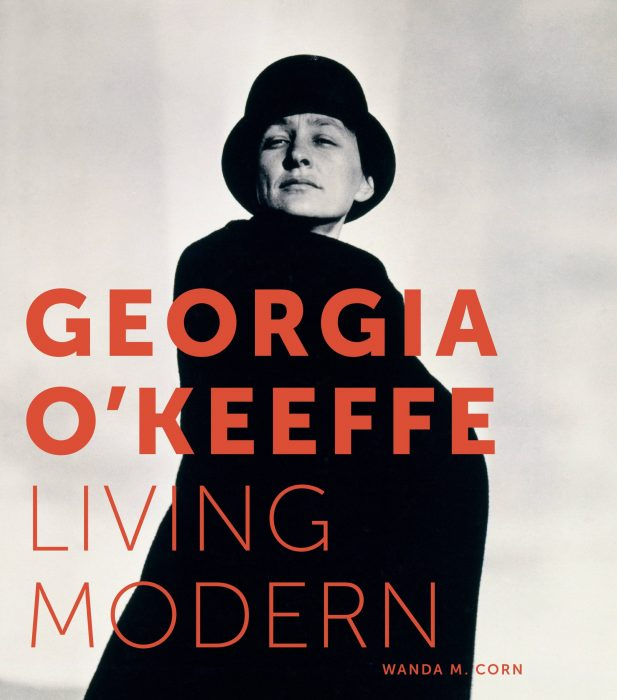 Cover for Georgia O'Keeffe: Living Modern