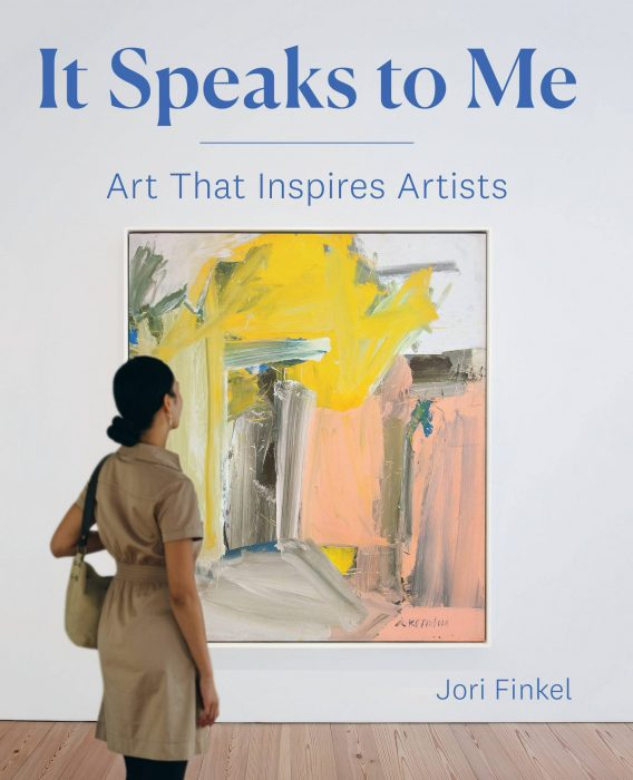 Cover for It Speaks to Me: Art That Inspires Artists
