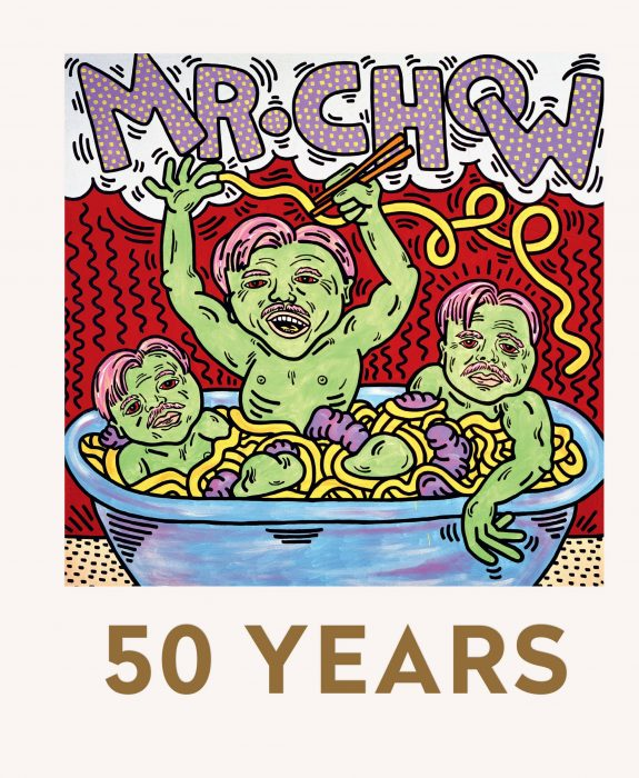 Cover for Mr Chow: 50 Years