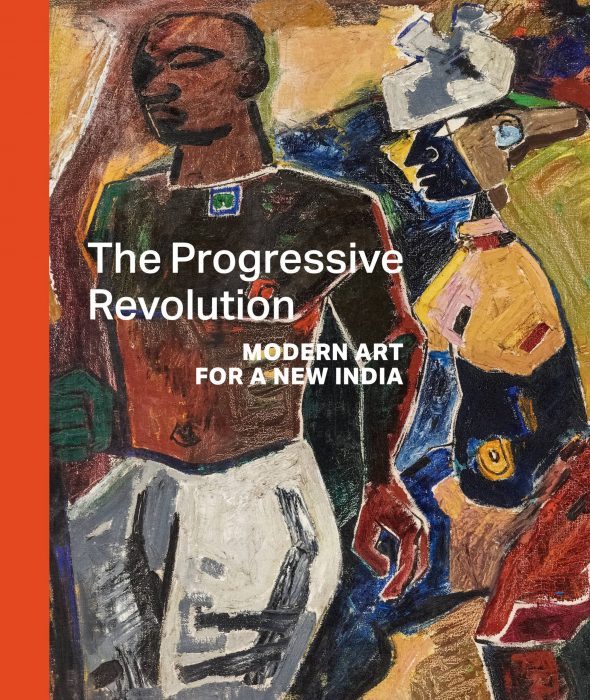 Cover for The Progressive Revolution: Modern Art for a New India