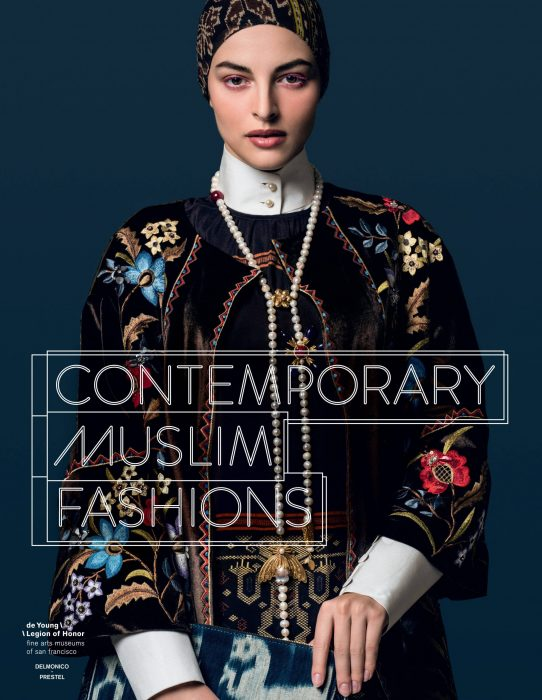 Cover for Contemporary Muslim Fashions