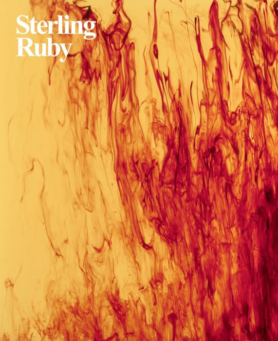 Cover for Sterling Ruby