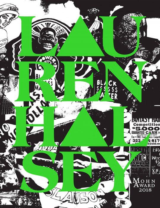 Cover for Lauren Halsey: Mohn Award 2018