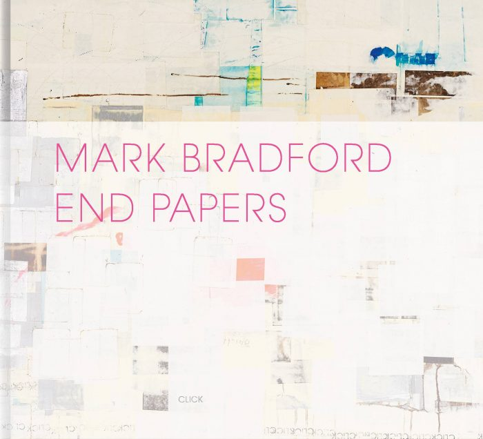 Cover for Mark Bradford: End Papers