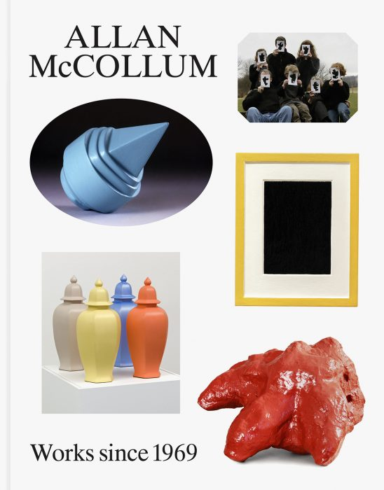 Cover for Allan McCollum: Works since 1969